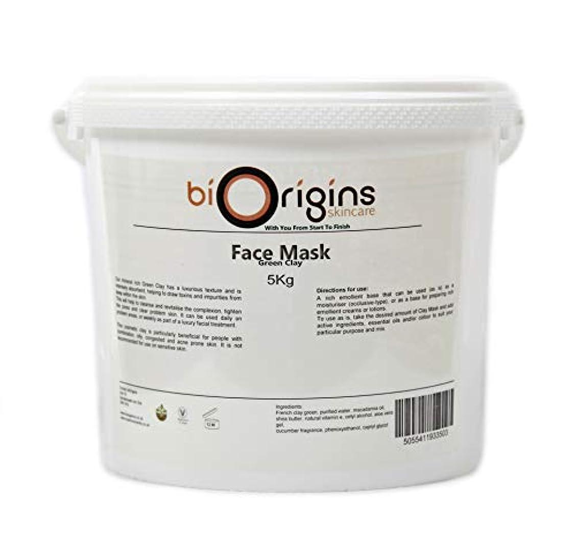 コーデリア打ち負かすスーツケースFace Mask - Green Clay - Botanical Skincare Base - 5Kg