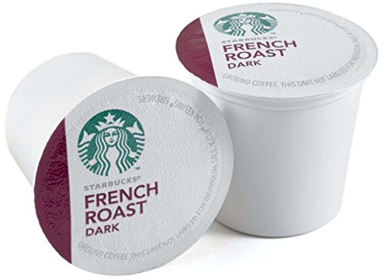 StarbucksフレンチローストダークローストコーヒーKeurig k-cups