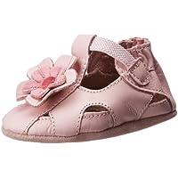 Robeez Pretty Pansy Soft Sandal (Infant),Pink,18-24 Months M US Infant