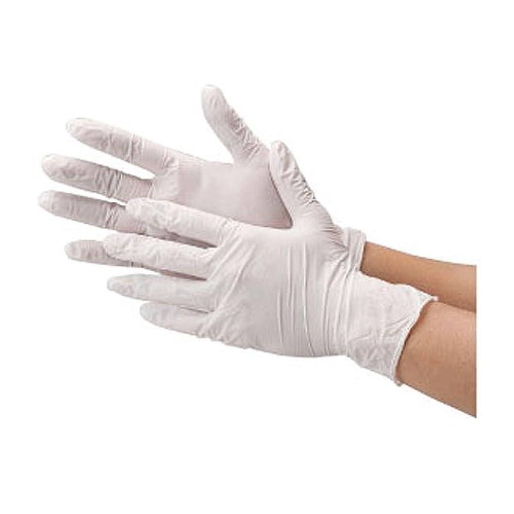 優越有害な遠征川西工業 ニトリル 使いきり手袋 ストロング 粉無 100枚入り 2037 ホワイトS