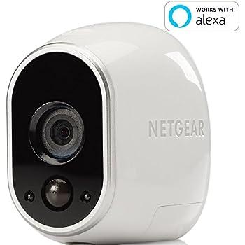 【Works with Alexa】 【エントリーモデル】Arlo ネットワークカメラ ワイヤレス 見守り 簡単設置 どこからでも見れる Arlo 増設用追加カメラ VMC3030-100JPS