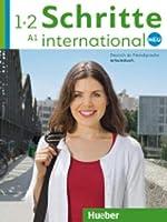 Schritte International Neu - dreibandige Ausgabe: Arbeitsbuch 1+2 (A1) + CDs (