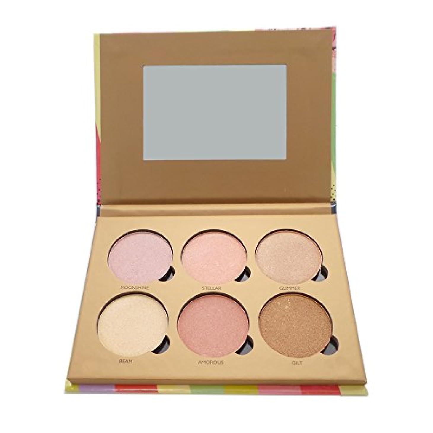 税金アシュリータファーマンかごOKALAN Glowing Palette Shimmers Kit A (並行輸入品)