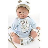 NPK Reborn Baby Doll Soft Silicone Vinyl 17 inch Lifelike Baby Boy Girl Toy Beautiful clothes doll 42 cm Hots
