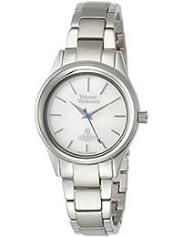 [ヴィヴィアンウエストウッド]Vivienne Westwood 腕時計 HOLLOWAY シルバー文字盤 ステンレススチール クォーツ VV111SL レディース 【並行輸入品】