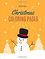 merry Christmas coloring pages: Christmas coloring books for children,Christmas coloring book pages