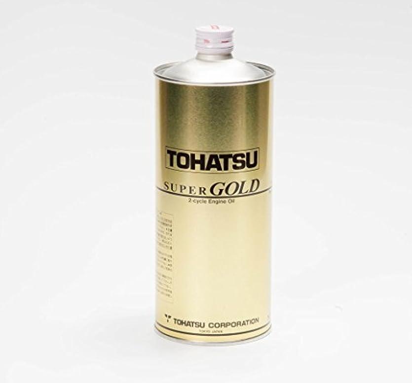 褐色エレクトロニック毒液トーハツ船外機 2ストローク用エンジンオイル スーパーゴールド 1,0L
