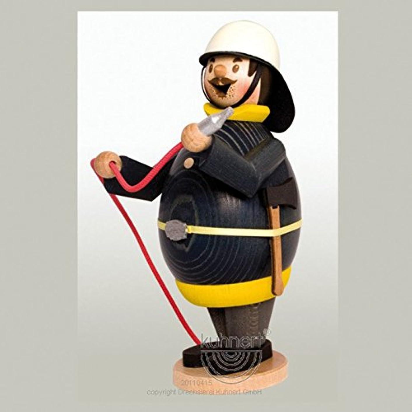 電信ジャンプ前書きHappy Max消防士ドイツ木製Incense Smoker手作りドイツエルツ山地