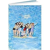 TWICE 2nd Special Album - SUMMER NIGHTS [ A Ver. ] CD + Photobook + Lyrics Poster + Polaroid PostCard + DIY Paper PostCard + PhotoCard + FREE GIFT / K-pop Sealed