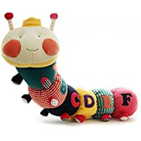 Baby Toys Musical Caterpillar教育玩具with Ring Bell stuffed plush animal kids toys baby rattles Mobiles 73 cm