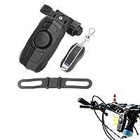 USB充満無線リモート・コントロール振動警報、自転車の角の電気自動車の家の振動防犯ベル