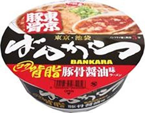 サッポロ一番 東京豚骨拉麺ばんから 背脂豚骨醤油味ラーメン 121g×12本入り (1ケース)
