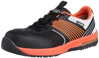 [ミドリ安全] 作業靴 スニーカー ISA801 静電 ISA801 静電 オレンジ(オレンジ/22.0)