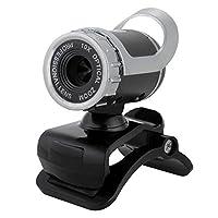 jacktom HDカメラマイク内蔵Webカメラ無料ドライブUSB 2.0コンピュータのデスクトップコンピュータPCラップトップ Jacktom-123