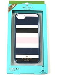 ( ケイトスペード ) kate spade iphone 7 iphone8 アイフォン7 アイフォン8 ケース cruise stripe WIRU0608 スマホケース 022 [並行輸入品]