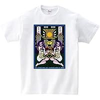 うらなか書房のシュールなTシャツ「蛭と乙女と林檎と窓と」(Tシャツ・ホワイト) (うらなか書房)