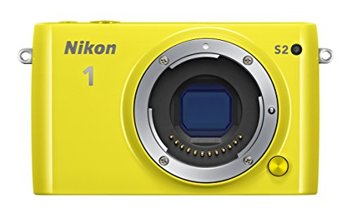 Nikon ミラーレス一眼 Nikon1 S2 標準パワーズームレンズキット イエロー S2PLKYW