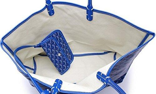 GOYARD( ゴヤール)トートバッグ レディーストートバッグ 通勤、通学、お買い物大容量バック 在庫一掃セール (GM, ブルー) [並行輸入品]
