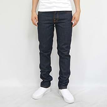 (ヌーディージーンズ) Nudie Jeans GRIM TIM(デニム グリムティム) DRY RING (42161-1062) 32inch NAVY
