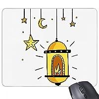 漫画の単純な幾何形状パターン ノンスリップゴムパッドのゲームマウスパッドプレゼント事務所