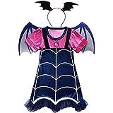 WuFun ガールズ バンピリーナ コスチューム 衣装 ハロウィン ドレスアップ用