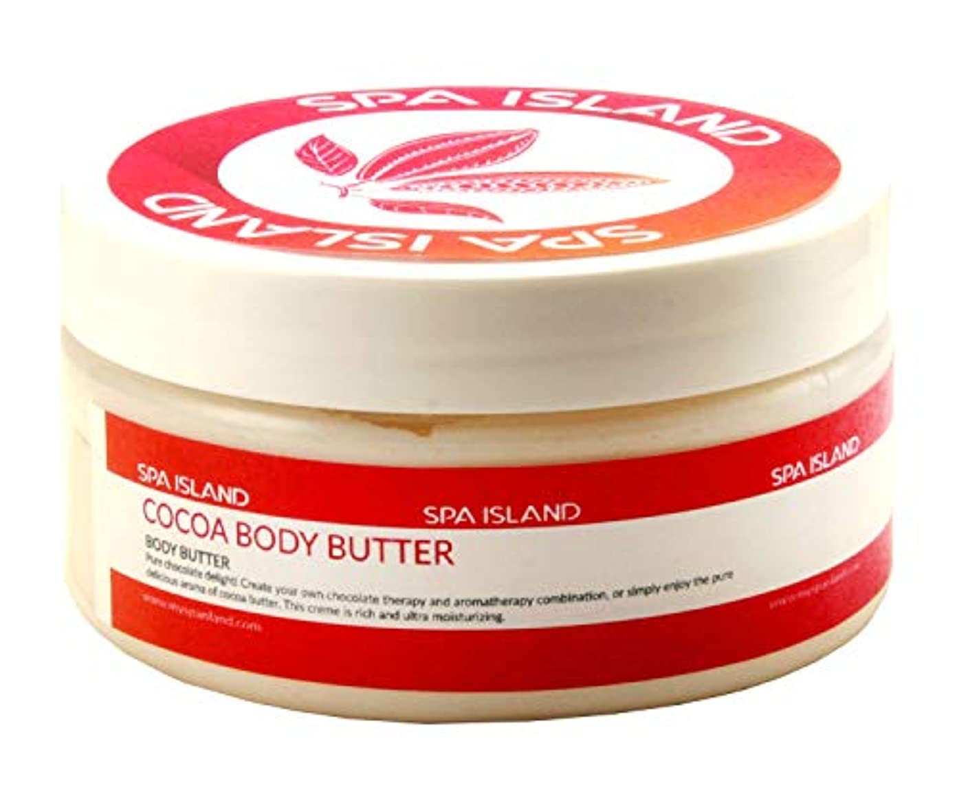 生きている歌苦情文句Spa Island 5.7oz Body Butter Cream Variety Pack (Cocoa, Mango Lime, Calming Lavendar) - Pack of 3