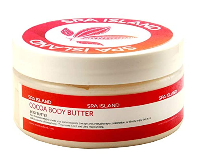 Spa Island 5.7oz Body Butter Cream Variety Pack (Cocoa, Mango Lime, Calming Lavendar) - Pack of 3