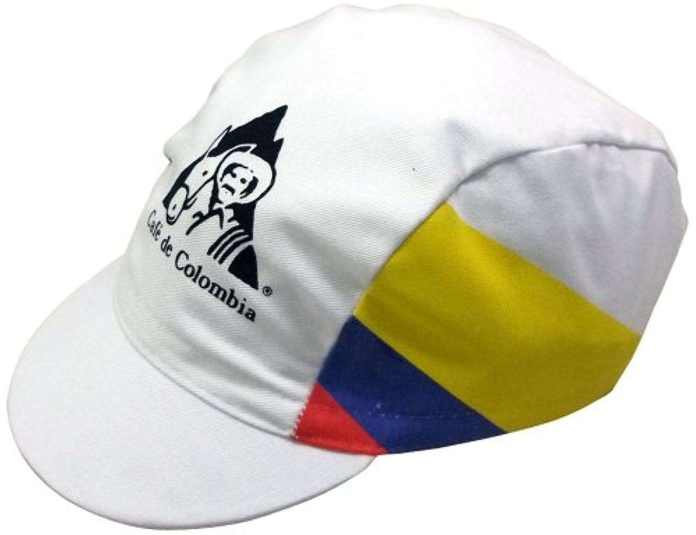 報奨金比類なき献身APIS レトロレーシングサイクリングキャップ CAFÉ DE COLOMBIA