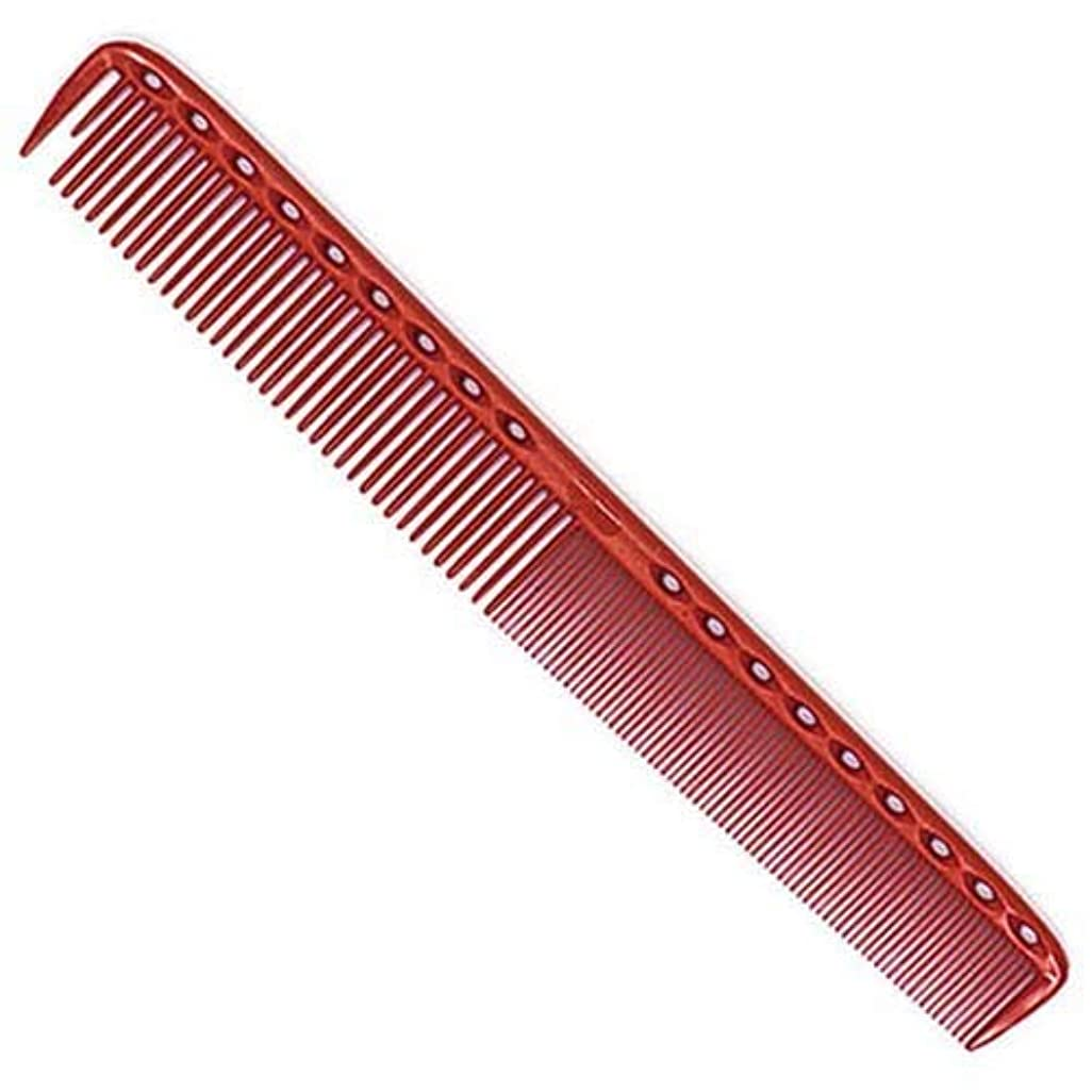 盟主自己便益YS Park 335 Fine Cutting Comb (Extra Long) - Red [並行輸入品]