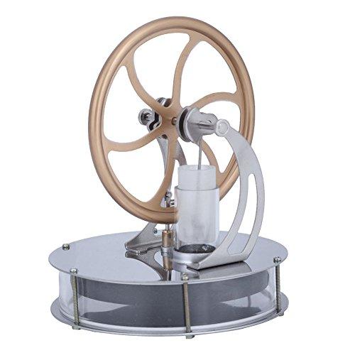 低温スターリング エンジンモーター スチームヒート 教育モデルおもちゃ スターリングエンジン 低温 蒸気エンジン 知育玩具 蒸気教育 実験科学 物理実験 自由研究