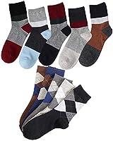 ビジネス ソックス メンズ 靴下 10足セットフォーマル 紳士 25~28 cm DE09-02