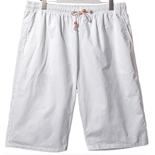 (シャンディニー) Chandeny おしゃれ ハーフパンツ メンズ 無地 短パン 半ズボン 大きいサイズ スポーツ 12229 ホワイト L サイズ