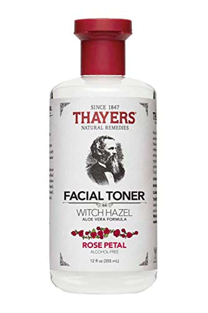 異議日常的にカブThayers? Rose Petal Witch Hazel Alcohol Free Toner with Organic Aloe Vera 355ml