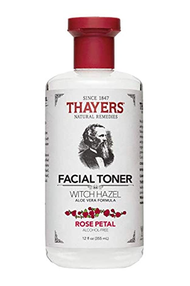 ベイビー最大限項目Thayers? Rose Petal Witch Hazel Alcohol Free Toner with Organic Aloe Vera 355ml