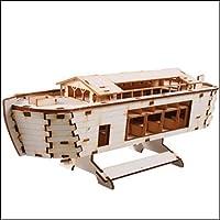 Desktop Wooden Model Kit Noah's Ark by YOUNGMODELER [並行輸入品]