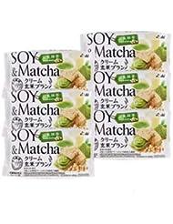 アサヒ バランスアップ クリーム玄米ブラン 豆乳抹茶 6個セット
