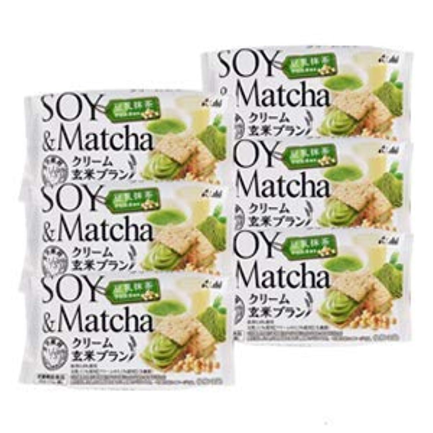 歯車ペチコート受益者アサヒ バランスアップ クリーム玄米ブラン 豆乳抹茶 6個セット