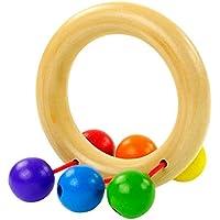 Baby Handbell – TOOGOO ( R )ベビー木製Bell Rattleおもちゃハンドベル音楽教育打楽器