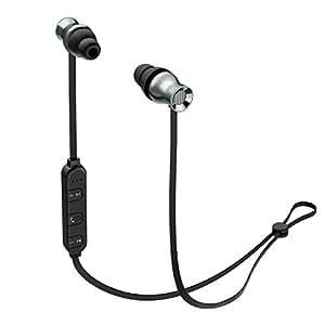 AUKEY Bluetoothイヤホン ワイヤレスイヤホン マグネット式 スポーツ仕様 iPhone Androind スマートフォン対応 EP-B37