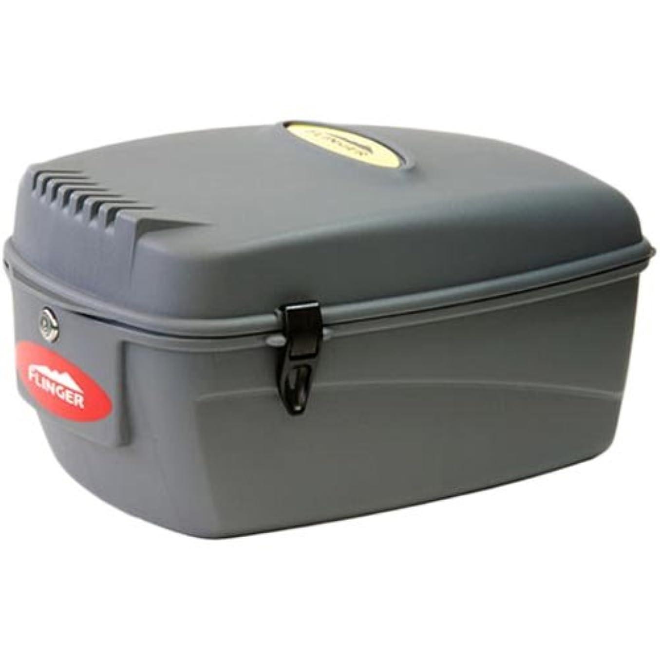 飢迷惑甘やかすフィンガー 樹脂製リアボックス SW-906A グレー