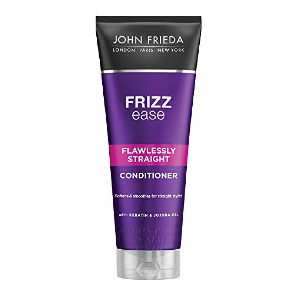 プレートバング牧草地John Frieda Frizz-Ease Straight Conditioner 250ml