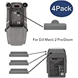 Fstop Labs Accessories for DJI Mavic 2 Pro/Zoom Drone and Battery Terminal Water-Resistant Dust Cover Plug (4 Pack)