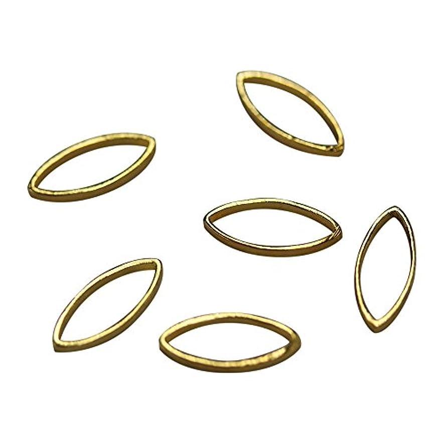 改修する増幅するうがい薬Bonnail×RieNofuji Loop leaf M ゴールド