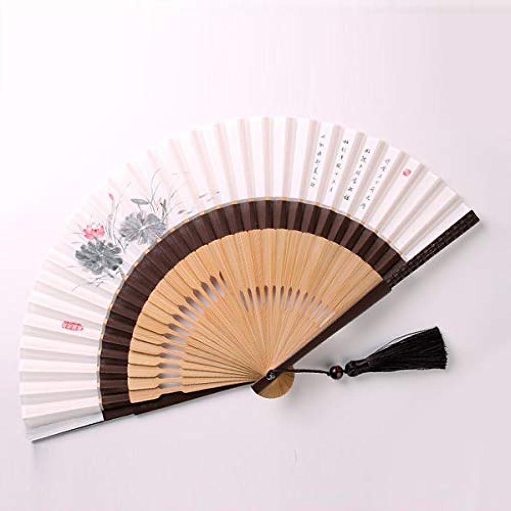 貫通よろめく平らにするKATH ファン、中国スタイルのインクのファン、扇子、クラフトギフトファン