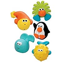 Sassy Bathtime Pals Squirt and Float Toys, 6+ months 1 set(pack of 2)PACK OF 2 by Sassy [並行輸入品]