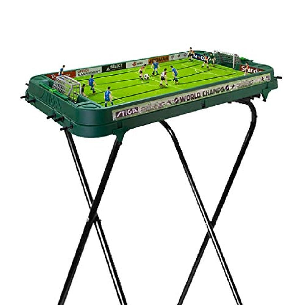 に慣れ警告する恋人テーブルサッカー機子供の卓球玩具屋内大人のビリヤード機マルチスポーツのおもちゃ親子インタラクティブ玩具子供の教育玩具最高の贈り物 (Color : GREEN, Size : 95.5*50.2*73CM)