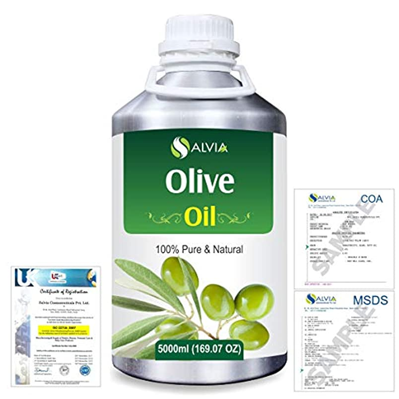 ポルトガル語文献面積Olive (Olea europea) Natural Pure Undiluted Uncut Carrier Oil 5000ml/169 fl.oz.