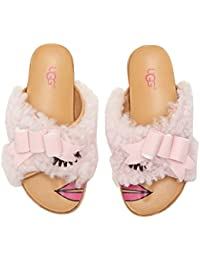 [UGG(アグ)] キッズサンダル?靴 Staceee (Toddler/Little Kid/Big Kid) Seashell Pink 4 Big Kid (22.5cm) M