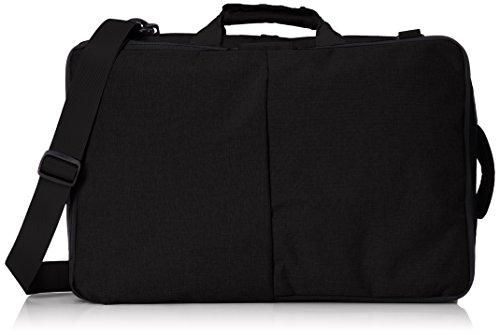 [ピーエスエフエー]ビジネスリュック 4WAY リュック ショルダー ブリーフ サブバッグ 多彩なポケット ブラック