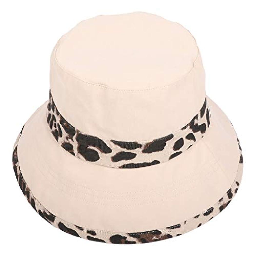 設計図誘惑限界帽子 ハット 女性夏旅行ボヘミアン帽子ビーチ太陽の帽子ヒョウ流域キャップ